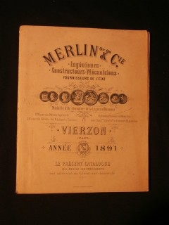 Catalogue Merlin et Cie, machines agricoles