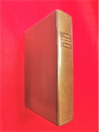 Oeuvres de N. Leskov et  M.E. Saltykov-Chtchédrine