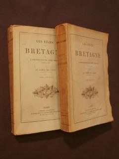 Les états de Bretagne et l'administration de cette province jusqu'à 1789