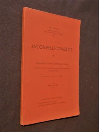Jacob Bellecombette, histoire d'une commune rurale