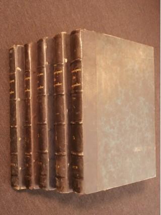 Les chroniques de Languedoc, revue du Midi 5 tomes, 1874-1879