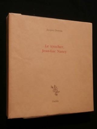 Le toucher,  Jean Luc Nancy