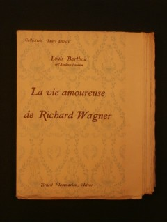 La vie amoureuse de Richard Wagner
