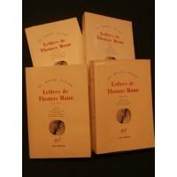 Lettres de Thomas Mann, 4 tomes