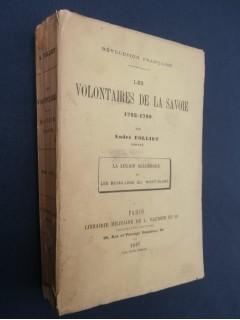 Les volontaires de la Savoie (1792-1799)