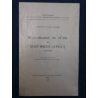 Morphologie du patois de Saint Martin la Porte