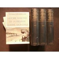 Histoire maritime de la première guerre mondiale, 3 tomes