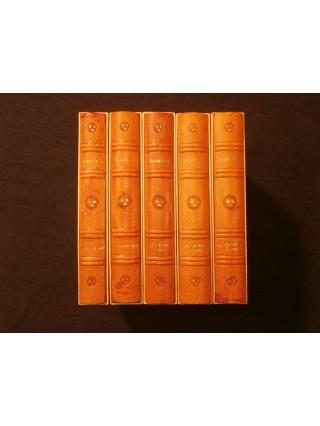 Oeuvres complètes, 5 tomes, illustrations de Jehan de Génie (Gradassi)