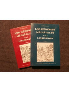 Les hérésies médiévales face à l'inquisition, 2 tomes