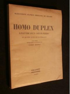 Homo duplex, légende d'un coeur perdu