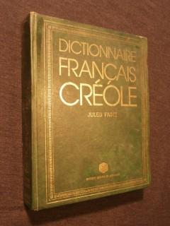 Dictionnaire français créole