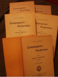Campagnes modernes, 3 tomes + 3 atlas