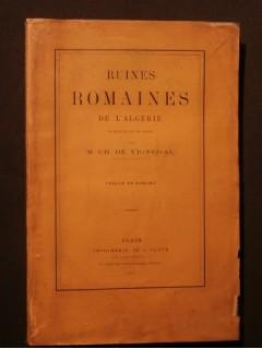 Ruines romaines de l'Algèrie, subdivision de Bone