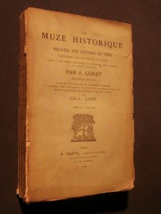 La muze historique ou recueil des lettres en vers, tome 3