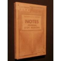 Notes, journal d'un musicien