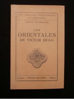 Les orientales de Victor Hugo