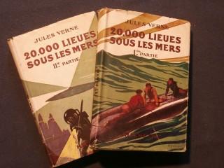 20000 lieues sous les mers, 2 tomes