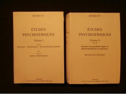 Etudes psychiatriques, 2 volumes