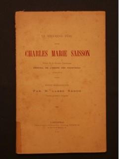 Le révérend père dom Charles Marie Saisson, prieur de la grande chartreuse, général de l'ordre des Chartreux