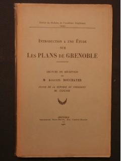 Introduction à une étude sur les cartes de Grenoble