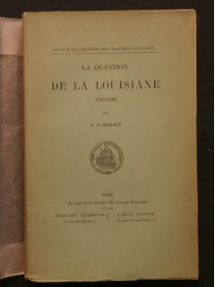 La question de Louisiane (1796-1806)