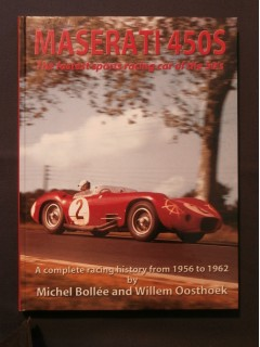 Maserati 450S, the fatest sports racing car of the 50's