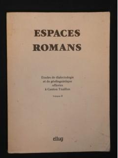Espaces romans, tome 2