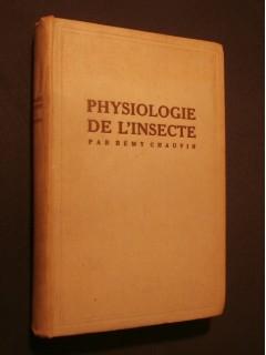 Physiologie de l'insecte