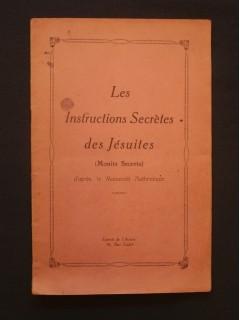 Les instructions secrètes des jésuites (monita secreta)