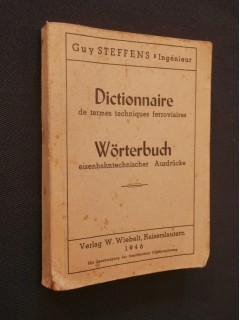 Dictionnaire français allemand des termes techniques ferroviaires