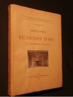 Antiquités et richesses d'art du département du Rhône
