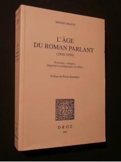 L'âge du roman parlant (1919-1939)
