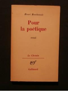 Pour la poétique