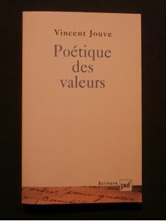 Poétique des valeurs