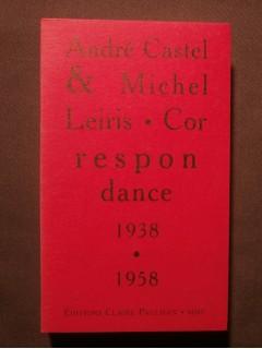 Correspondance 1938-1958