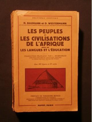 Les peuples et les civilisations de l'Afrique, suivi de les langues et l'éducation