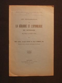 Les connaissances sur la géologie et l'hydrologie du Nivernais du XVIe au XVIIIe siècle