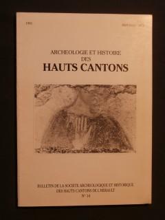 Archéologie et histoire des hauts cantons n°14