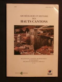 Archéologie et histoire des hauts cantons n°20