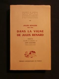 Dans la vigne de Jules Renard