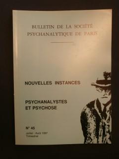Bulletin de la société psychanalytique de Paris, n°45