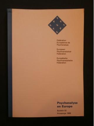 Psychanalyse en europe