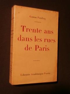 Trente ans dans les rues de Paris