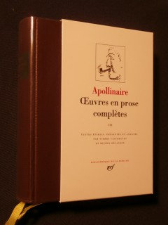 Oeuvres en prose complètes, tome 3
