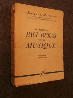 Les écrits de Paul Dukas sur la musique
