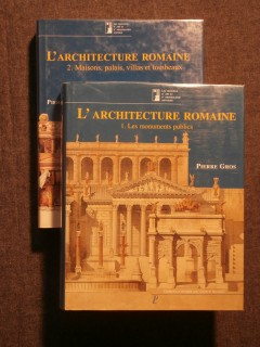 L'architecture romaine, 2 tomes