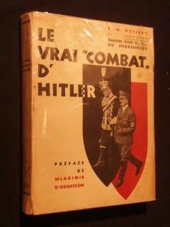 Le vrai combat d'Hitler