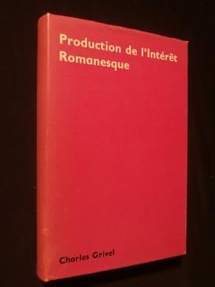 Production de l'intérêt romanesque