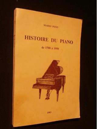Histoire du piano de 1700 à 1950