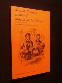 Léonard, maçon de la Creuse
